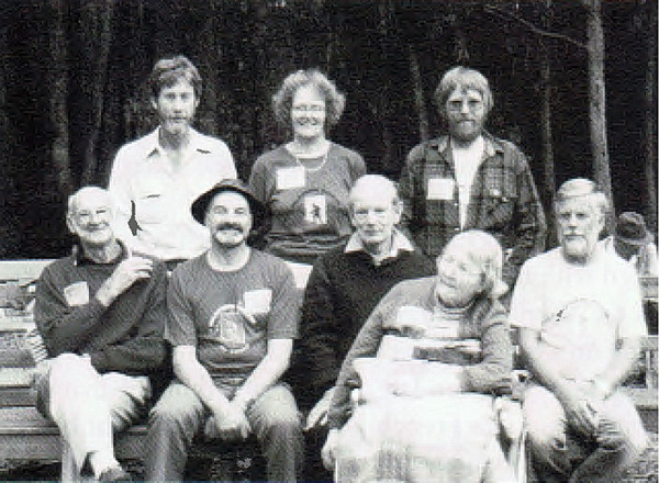 Past Presidents, taken at the Club's 50th anniversary picnic.