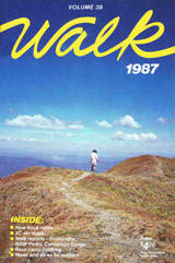Walk magazine 1987 front cover